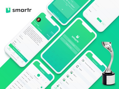 Smartr wins Silver at the Davey Design Awards!