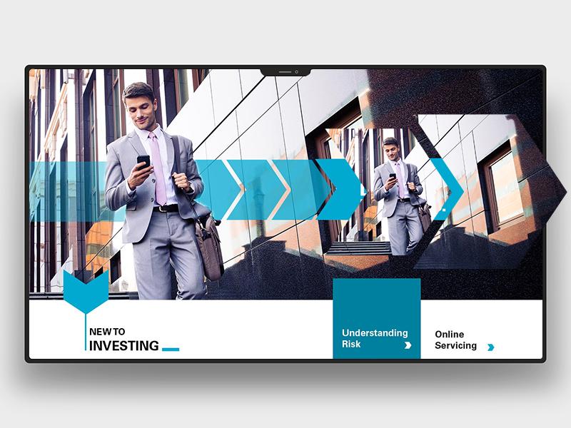 Invest'n me design logo uiux webdesign minimal