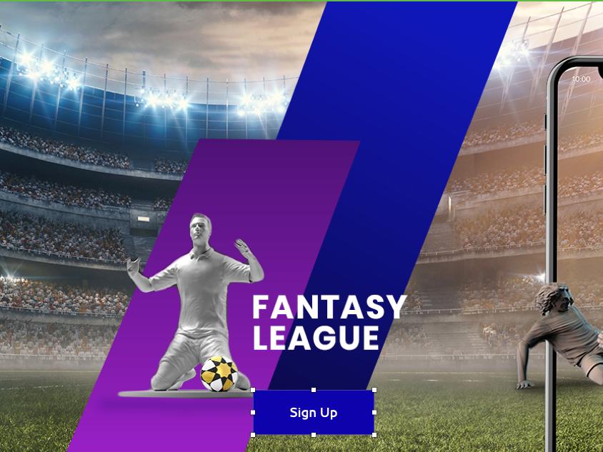 Fantasy Soccer _UI user interface dark kickoff uae website sketch football highfidelity ui minimal
