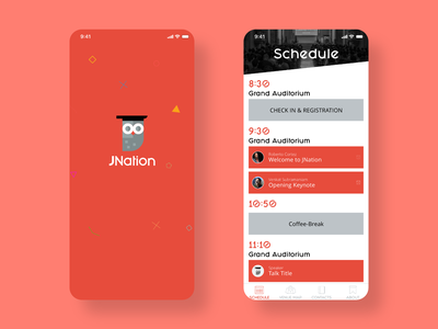 JNation schedule conference mobile