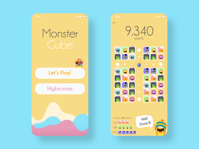 Monster Cube mobile game