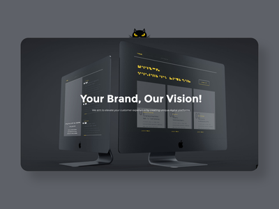 evilcat.design brand design website design website logo webdesign