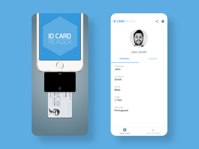 ID CARD Reader mobile app reader id card mobile