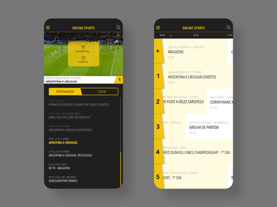 online sports mobile tv app sports