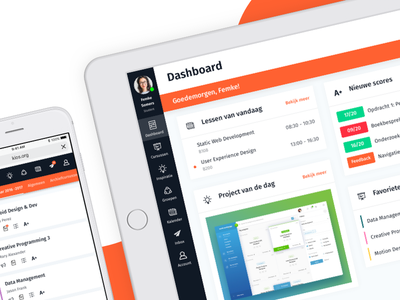 KIOS - Learning Management System (pt. 2) web app iphone ipad lms education school dashboard responsive thesis ui ux learning management system