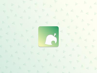 Daily UI Challenge - Animal Crossing App Icon nintendo branding visual design ux ui jackie bitetto mobile game ui mobile game gaming animal crossing dailyui 005 dailyuichallenge dailyui