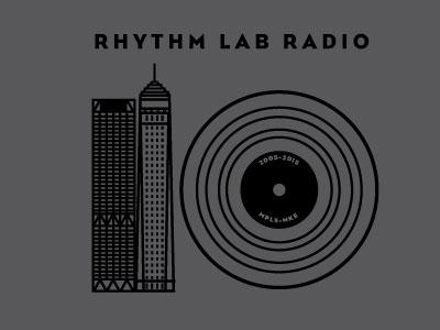 Rhythm Lab 10 Year buildings record dj radio minneapolis milwaukee music