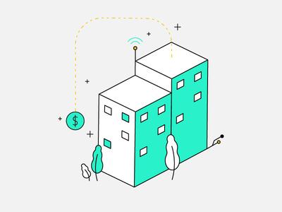 Isometric City infrastructure finance city isometric