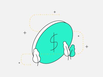 Big Money finance isometric