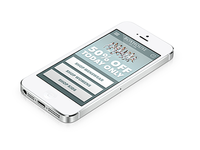 Mobile eCommerce homepage