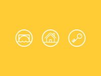 Some icons I created for a recent pitch