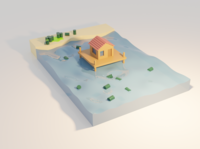 Low Poly Water Study