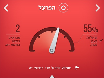 "Grammer App - Dashboard  ||  אפליקציה ללימוד לשון - מט""ח"