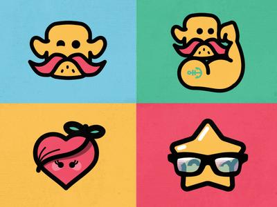 Mascot - Flat characters