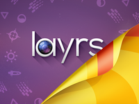 Layrs App - appstore featured art