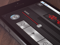 Audio Player screen For iOS
