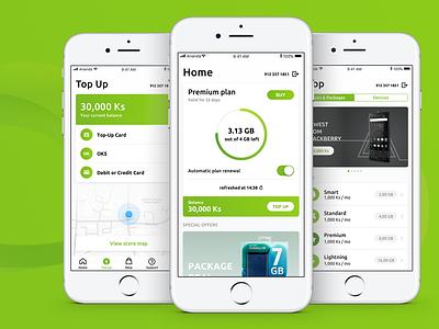 Ananda, 4G network green ux telco mobileapp mobile