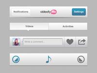 VideofyMe UI Parts