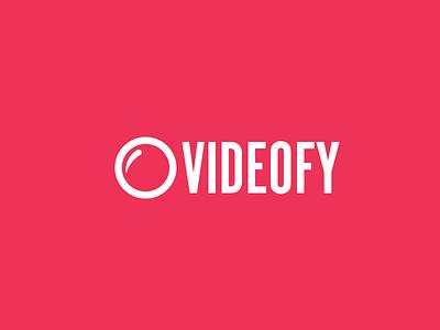 Videofy Logo logo branding lens icon video