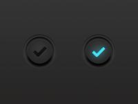 Dark UI Button