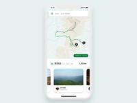 Social Trekking App Concept / Adobe XD & Adobe Animate