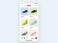 Shopping Cart Widget Concept
