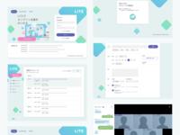 LITE - Web Conferencing App Design