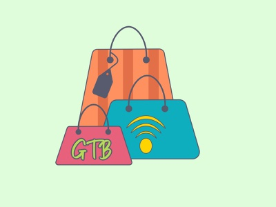 GTB illustration web website ux ui illustrator graphic design branding design logo