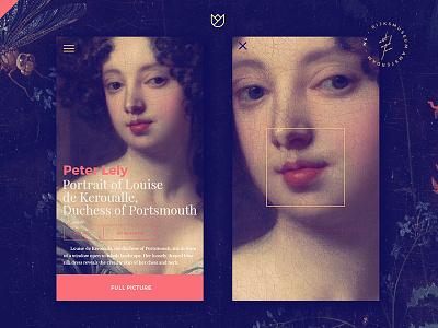 Art of Baroque painting classic baroque ui mobile web
