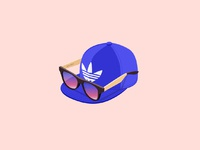 Dribbble teenage cap
