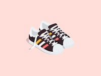 Dribbble teenage shoes