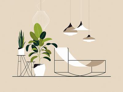 Electric Relaxation vol 3 muller van severen design plant retro lamp relax chair furniture