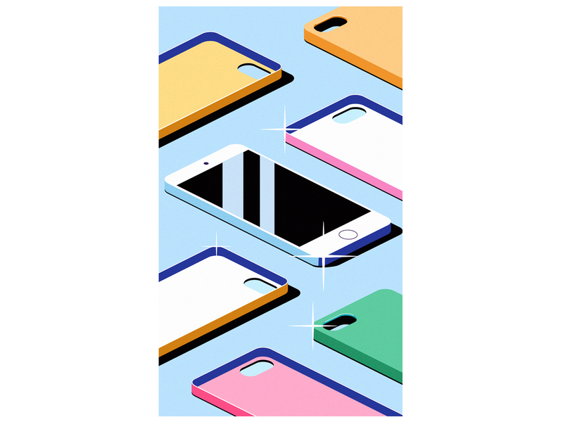Keep them clean winterweekly luxury case mobile illustration monoclemagazine
