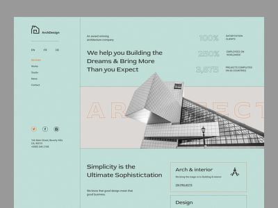 Shot Arch Design header shots architecture