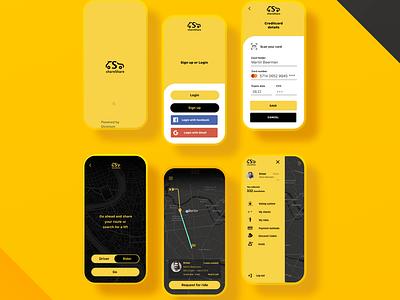 Sharing app design/dev frontend ux ui logo react native mobile app app