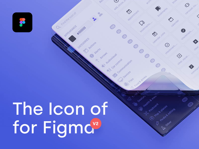 The Icon of - Plugin for Figma V2 icons the icon of theiconof.com icon icon design corona svg ui components design system iconography icon set ligature pixel perfect majo puterka plugin figma tutorial figma plugin community extension