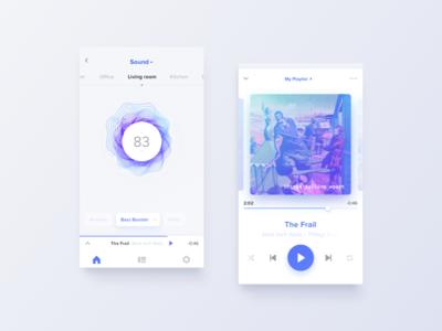 Smarthome app smart home augmented reality artificial intelligence plat4m mobile ux futuristic ui voice ai smarthome