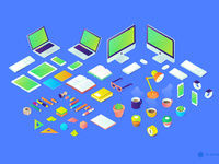 Isometric illustration preview