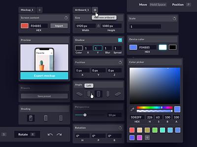 Mockups - UI Elements iphone xs iphone x design tool ux ui element flow sketch modul editor mockups mockup