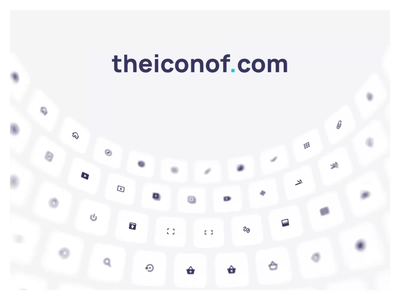 The Icon of - Icon set perfect in every pixel