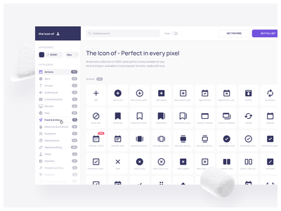 The Icon of - Search icon set iconset iconpack icons icon iconography majo puterka the icon of sketch figma adobe xd iconjar invision studio ui uiux ux website design webdesign app vector