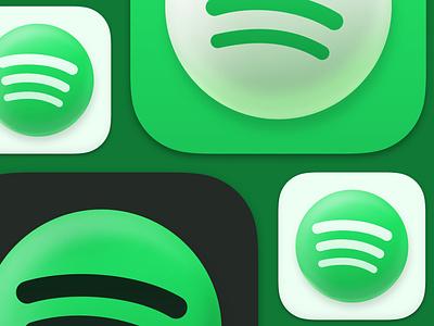 Spotify Big Sur Icon mac macos spotify big sur app icon app icon