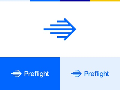 Preflight (again) paper airplane lines air airplane plane identity type branding brand logo