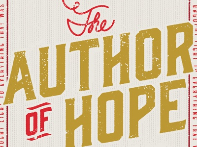 The Author of Hope