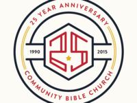25th Anniversary Badge