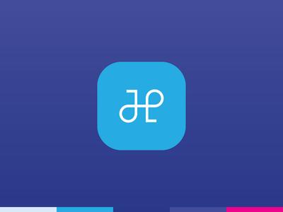 Handle branding brand logo typography type custom handle