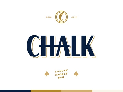 Chalk sports bar bar chalk c logo branding brand