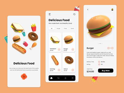 Food Delivery App uxdesign uidesign design delivery app delivery food app design food app ui food app food ux ui