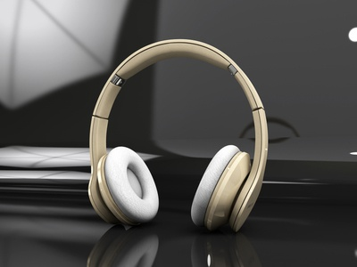 Earphone modal render 3d c4d