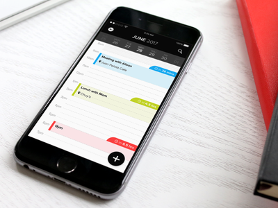 Schedule (Daily UI 71) interface design calendar ui phone app schedule